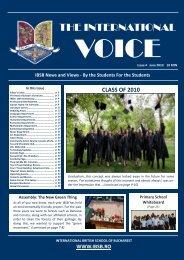 TIV Issue 4 June 2010 - Fundatia International British School of ...