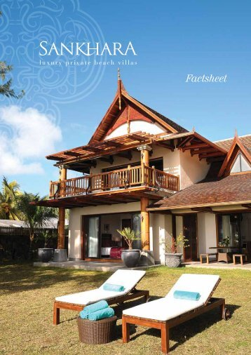 Factsheet - Sankhara Villas Mauritius