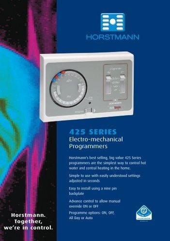 Horstmann 425 range installation instructions 425 series horstmann freerunsca Images