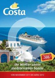 Ihr Winter unter mediterraner Sonne
