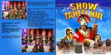 siciens du Ballet Show Tahiti Nui. Me - Theo Tahiti Show