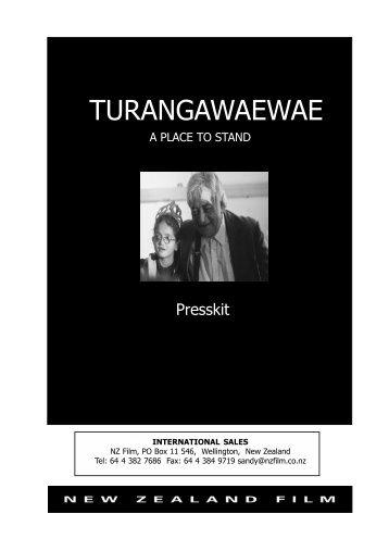 Turangawaewae Press Kit.pdf - New Zealand Film Commission