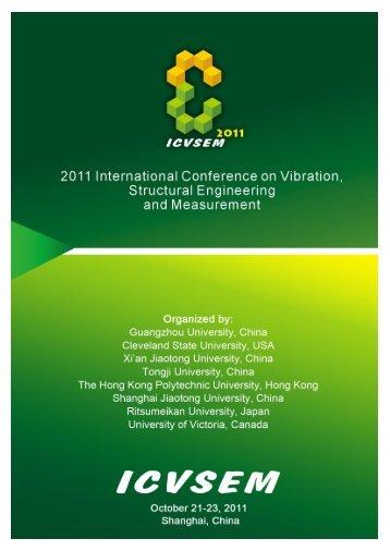 ICVSEM2011 PROGRAM Morning, October 22, 2011 - Icvsem.org