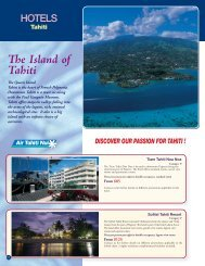 e Island of Tahiti - Voyages Cassis