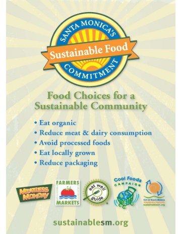Community Meatless Monday Recipe Book - City of Santa Monica