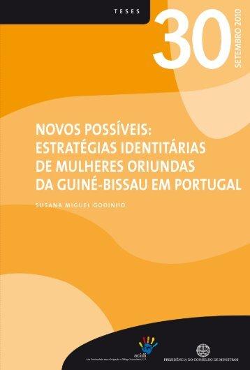 Novos possíveis : estratégias identitárias de mulheres oriundas da
