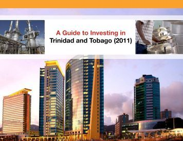 A Guide to Investing in Trinidad and Tobago (2011) - Ministry of ...