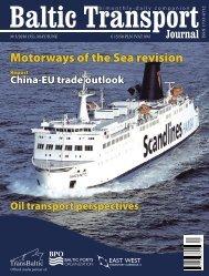 btj 35.indd - Baltic Transport Journal