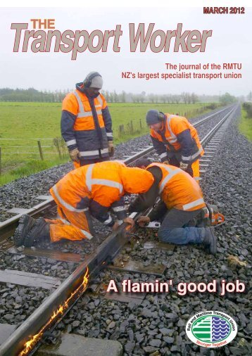 A flamin' good job - Rail and Maritime Transport Union