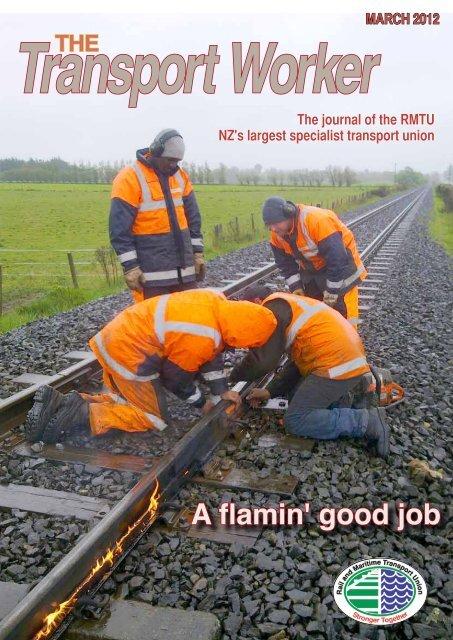 A flamin' good job - Rail and Maritime Transport Union