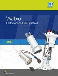 Walbro High-Performance Fuel modules: oE - TI Automotive