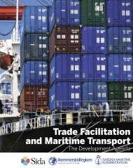 Trade Facilitation and Maritime Transport: The Development Agenda