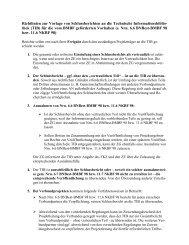 Richtlinien zur Vorlage von Schlussberichten an die ... - TIB