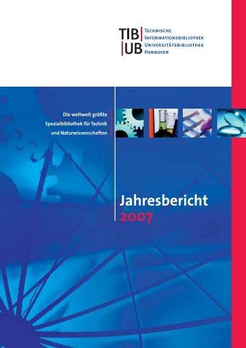 TIB/UB Jahresbericht 2007