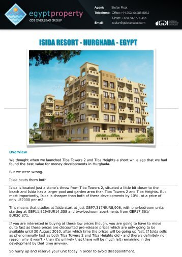 ISIDA RESORT - HURGHADA - EGYPT