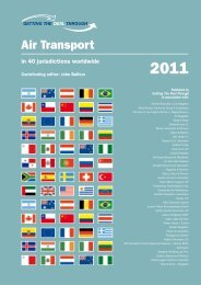 Air Transport - Fraser Milner Casgrain