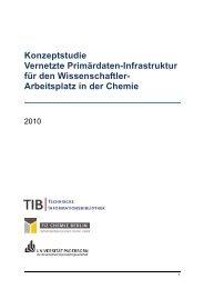 Konzeptstudie Vernetzte Primärdaten-Infrastruktur für den ... - TIB