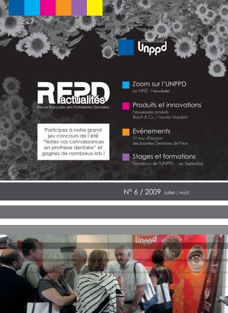 Zoom sur l'UNPPD Stages et formations Evénements Produits et ...