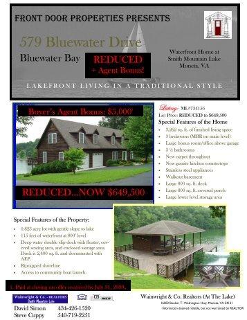Brochure draft-Lawrence 6-28-09 - Smith Mountain Lake Real Estate