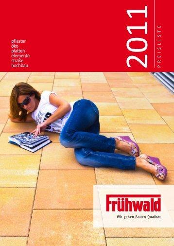 Frühwald Pflaster 2011