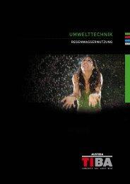AquA clean RegenwAsseRnutzung - TIBA AUSTRIA GmbH