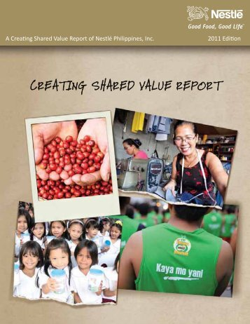 Creating Shared Value Report - Nestlé Philippines, Inc.