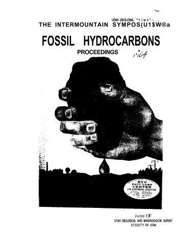 FOSSIL HYDROCARBONS - University of Utah