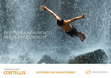 brochure - Thomson Reuters Cortellis
