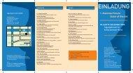 Flyer zum 1. Mamma-Forum 2005
