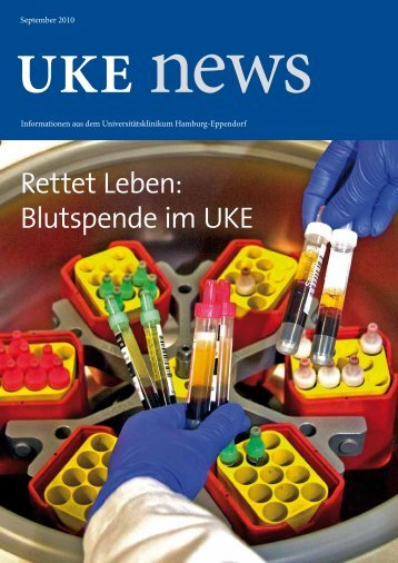 Blutspende im UKE - Universitätsklinikum Hamburg-Eppendorf