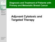 Adjuvant Cytotoxic and Targeted Therapy