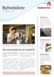 Nyhedsbrev - Arla Foodservice