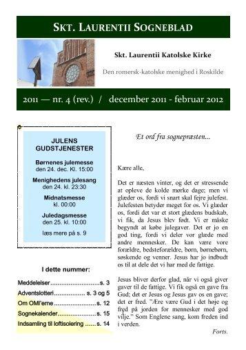 Sogneblad 2011-4 - Sankt Laurentii Kirke