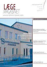 dansk lege, afdelingsoverlege på det nordligste hospital i verden