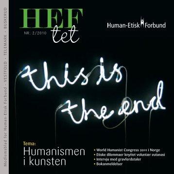 Humanismen i kunsten - Human-Etisk Forbund