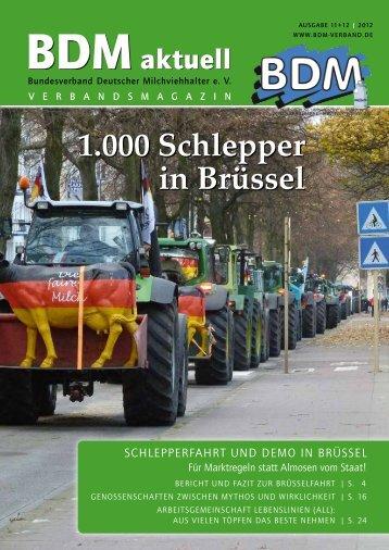 1.000 Schlepper in Brüssel - ALL Rind • Arbeitsgemeinschaft ...