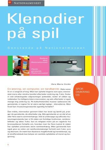 KLENODIER PÅ SPIL 2# - Nationalmuseet