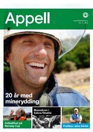 20 år med minerydding - Norsk Folkehjelp