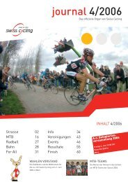Swiss Cycling Journal 04/2006 - Velo-Moto-Club Männedorf