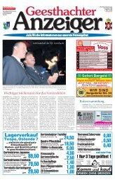 Jubiläumsball des VfL Geesthacht - Gelbesblatt Online