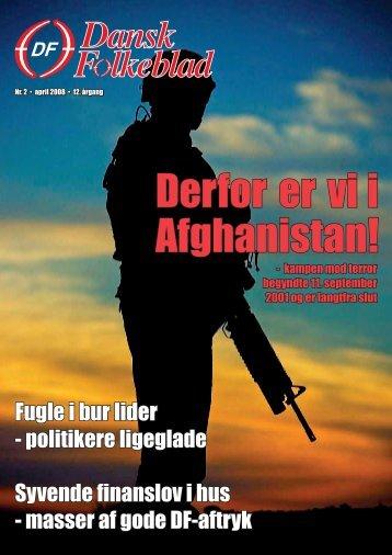 Derfor er vi i Afghanistan! - Dansk Folkeparti