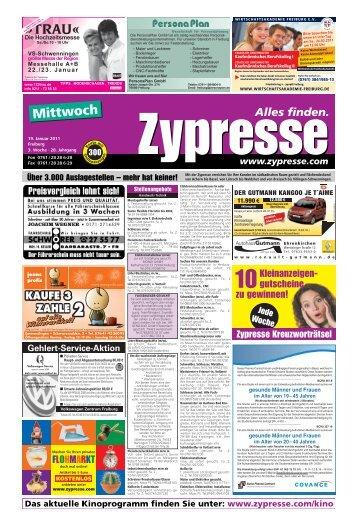 FR Mittwoch (Page 1) - Zypresse