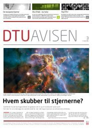TREDIMEN SIONELT MILJø - Danmarks Tekniske Universitet