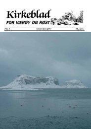 Gammelt bilde fra Røst kirke - værøya.no - Nyheter