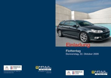 Einladung Flottentag (pdf, 416 KB) - Raiffeisen-Impuls-Leasing GmbH