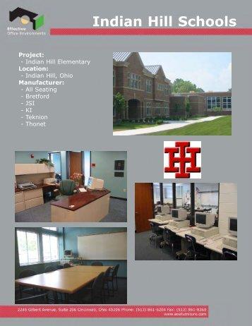 Indian Hill Schools - EOE Furniture