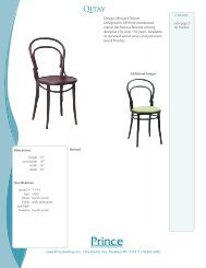 Design: Michael Thonet Designed in 1859 this ... - Prince Seating