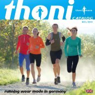 CATALOG running wear made in germany