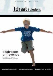 Skolesport er flyvende - Dansk Skoleidræt