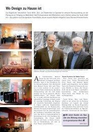 Wo Design zu Hause ist - bei Taurer Wohn-Büro-Objektmöbel in ...